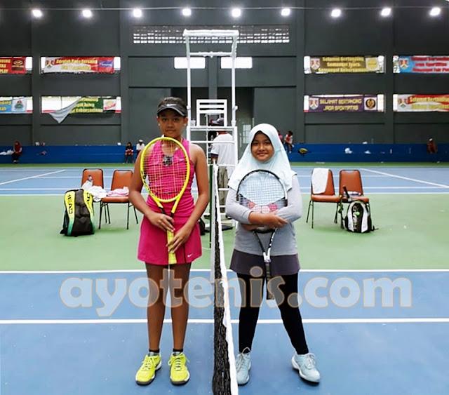 Petenis Cantik Asal Gunungkidul Mendaki Babak Puncak Kejurnas Tenis Yunior New Armada Cup XXIV