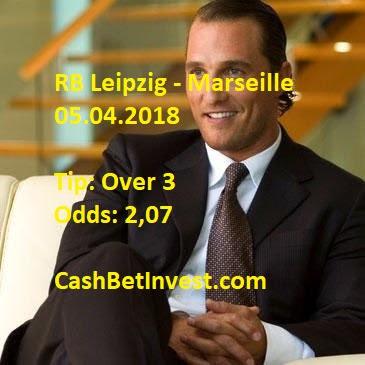 RB Leipzig - Marseille 05.04.2018 - Cash Bet Invest
