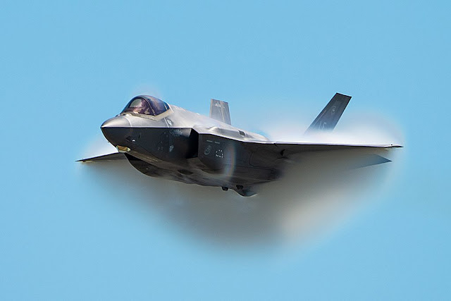 USAF F-35 Demo 2020 airshow