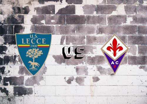 Lecce vs Fiorentina  Resumen