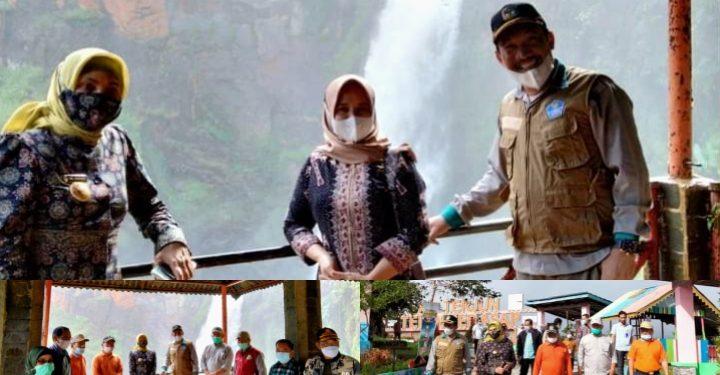 Sekda Asraf Dampingi Kunjungan Pj Gubernur Jambi ke Objek Wisata Air Terjun Telun Berasap