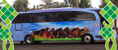 Harga Tiket Lebaran 2017 Bus Wisata Komodo jurusan Bali Denpasar