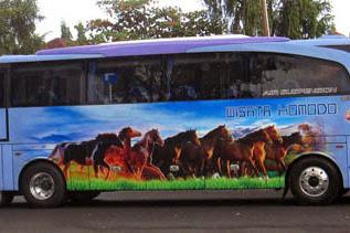 Harga Tiket Lebaran 2017 Bus Wisata Komodo