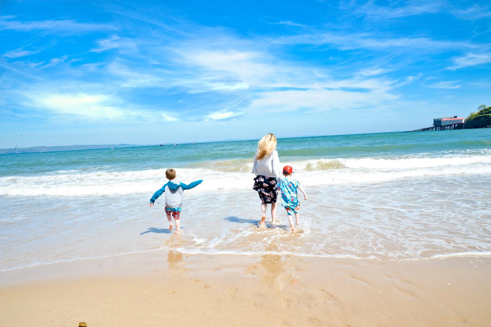Tenby beach, Bluestone wales, bluestone, bluestone wales review,