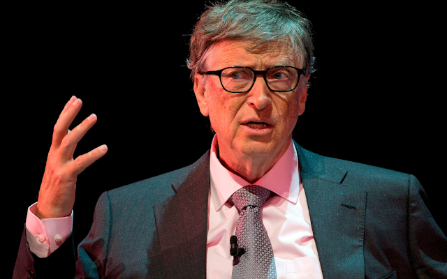 You don't see big mineral-type things in India, you see a mixture of humanity: Bill Gates
