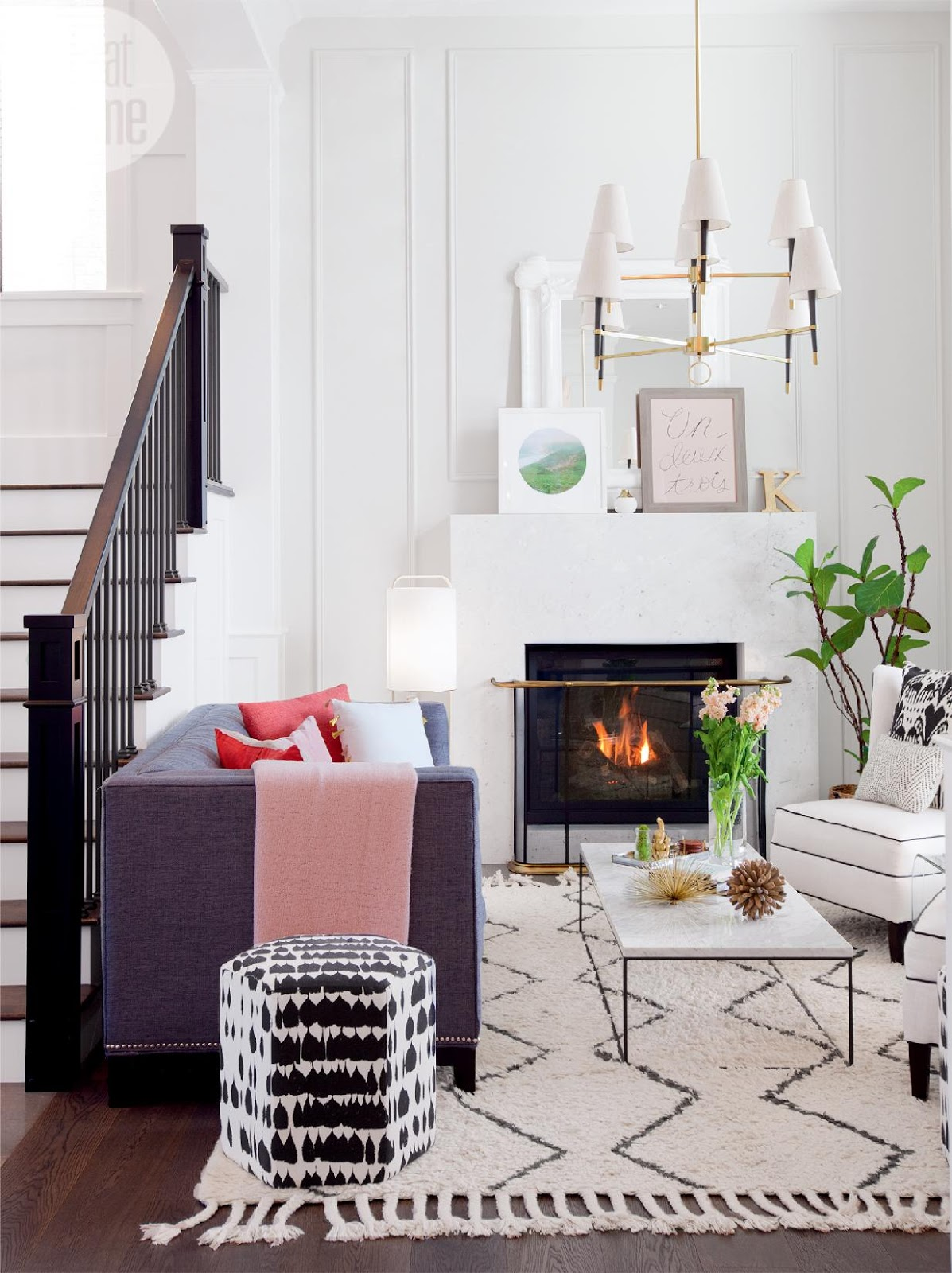 A stylish modern family home white and full of light - Decorology