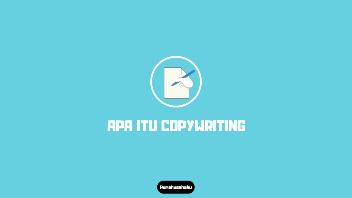 apa itu copywriting