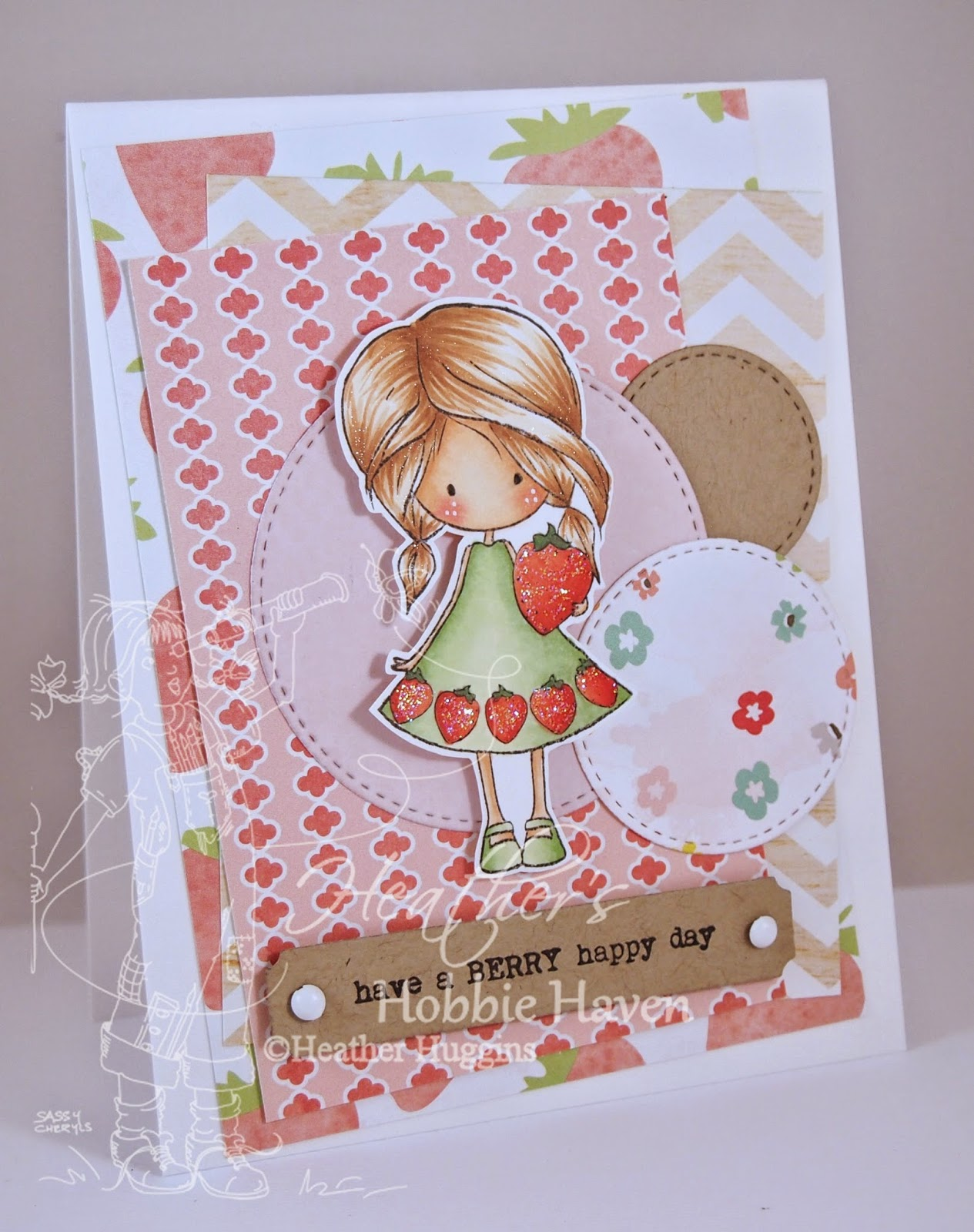 Heather's Hobbie Haven - Flynn's Berry Happy Day Card Kit