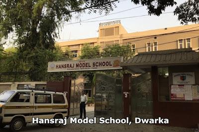 Hansraj Model School, Dwarka