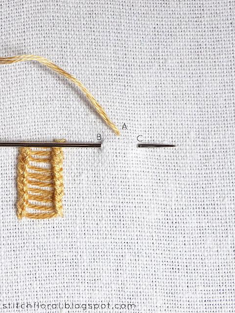 loop stitch tutorial