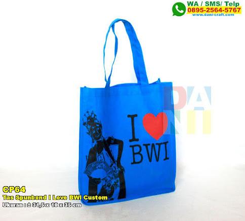 Tas Spunbond I Love BWI Custom