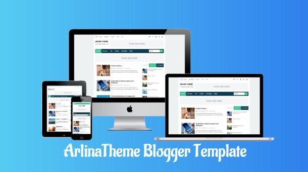 template arlina design premium gratis, download template premium arlina design, kumpulan template arlina design premium gratis