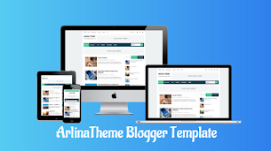 Arlina Theme Premium Blogger Template - Responsive Blogger Template