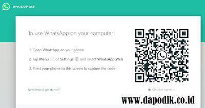 Cara Mudah Bagi Guru, Pegawai, dan Operator Sekolah Membuka WhatsApp di Laptop Atau Computer
