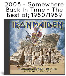 2008 - Somewhere Back In Time - The Best of: 1980 - 1989