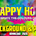 HAPPY HOLI 2020 SPECIAL HD BACKGROUND AND PNG FREE DOWNLOAD