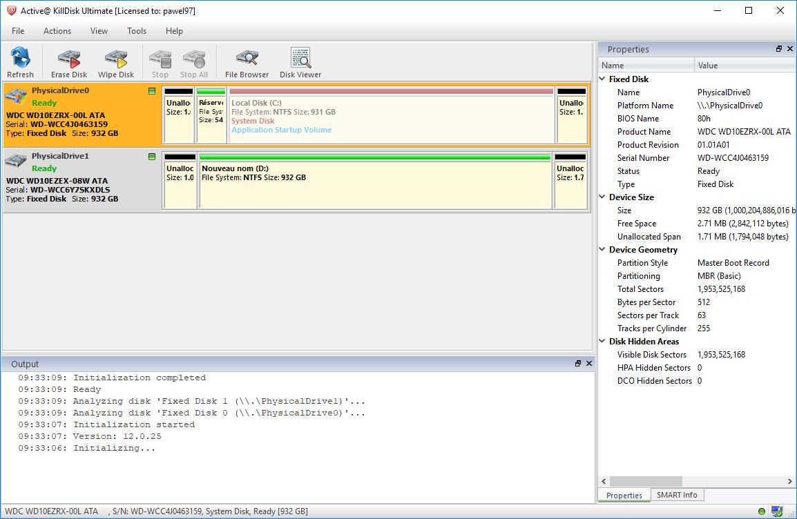 تحميل أفضل برنامج لحذف الملفات نهائيا بشكل دائم دون إمكانية استردادها  Active KillDisk Ultimate 12.0.25