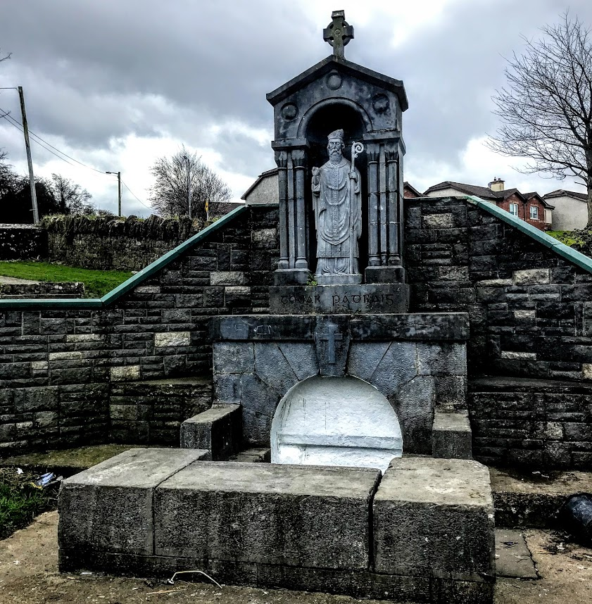 Saint Patricks Well At Singland In Limerick The State Was Erected 1904 Photograph Patrick Comerford 2018