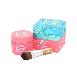 Sand & Sky Australian Pink Clay Porefining Face Mask, beauty products, beauty face mask