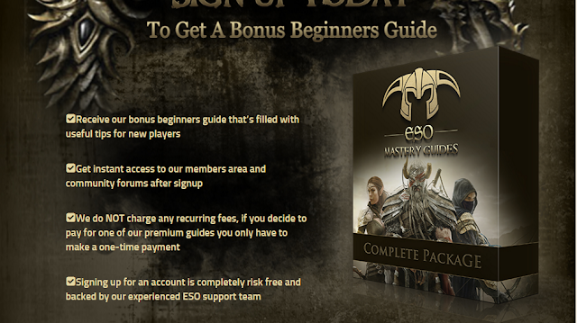 Eso Mastery Guides - The #1 Elder Scrolls Online Guide (view