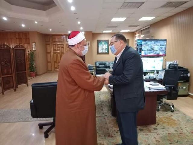 محافظ الشرقية يستقبل وكيل وزارة الأوقاف الجديد