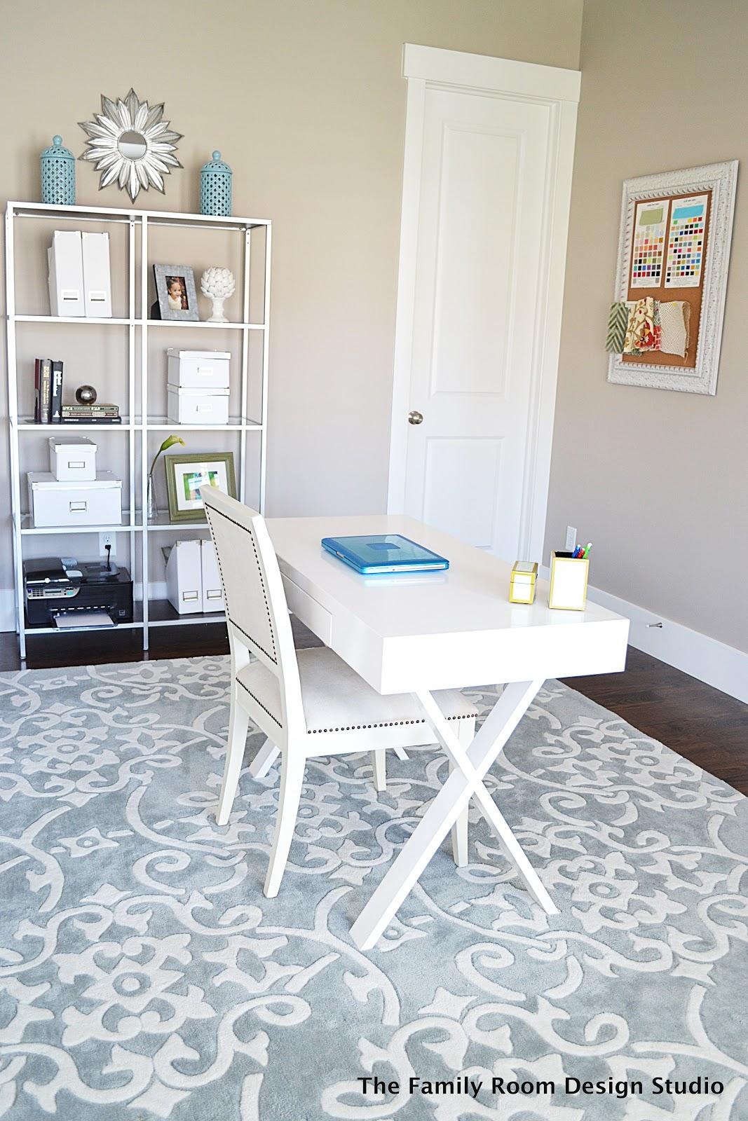 My New Home Office Progress and an Ikea Hack  Sita