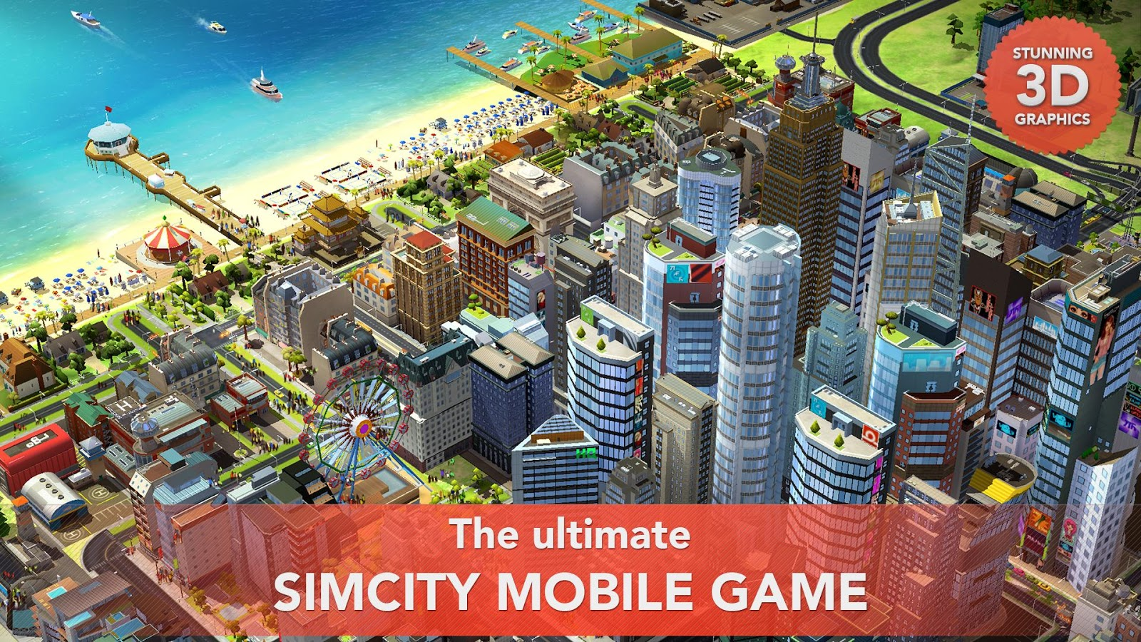 SimCity BuildIt Apk Mod v1 9 9 38138 + Data (Offline
