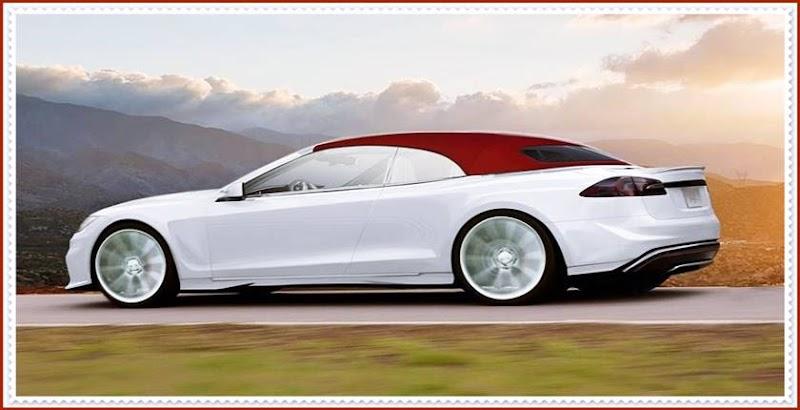 Представлена Tesla Model S кабриолет