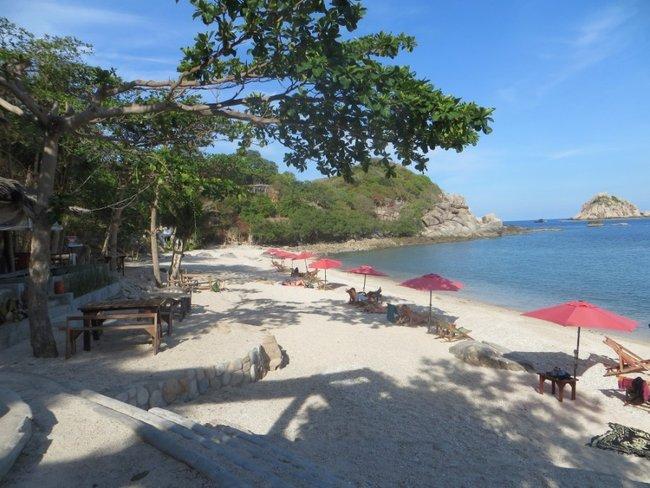 Хороший пляж на острове Тао