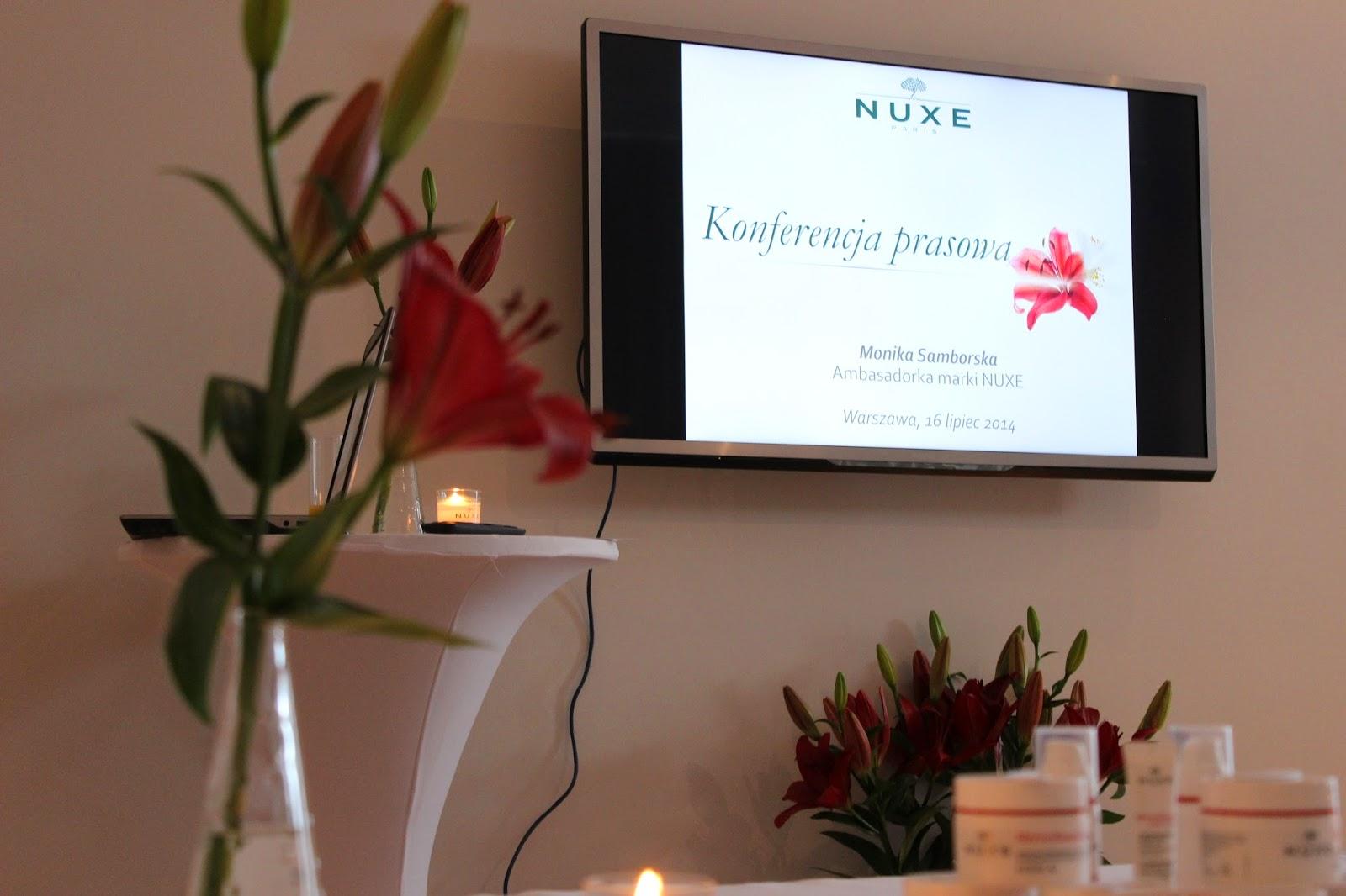 Konferencja Nuxe Merveillance Expert - relacja