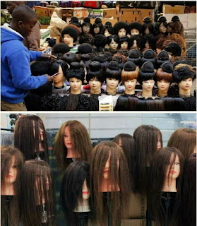 the danger of women artificial hair and attachment