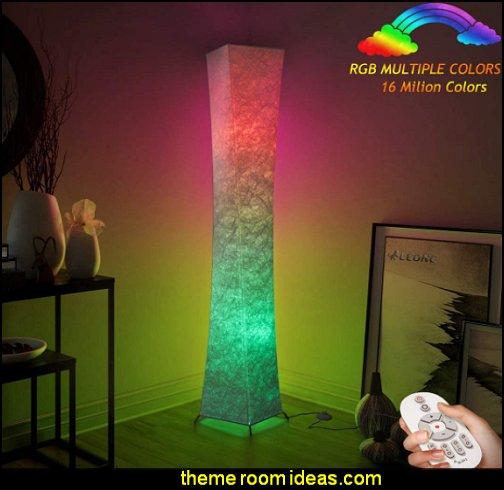Color Changing floor lamp LED Floor Lamp retro lamp 70s decor