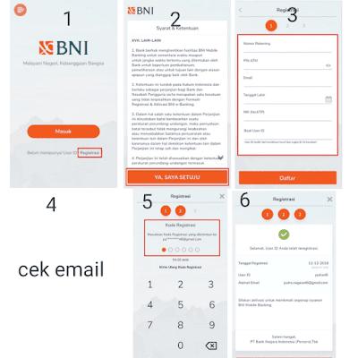 Cara daftar BNI Mobile Banking Lewat Hp Dan Mesin Atm