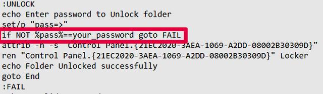 كيفية انشاء مجلد مخفي ومحمى بكلمة سر في ويندوز 10 بدون برامج