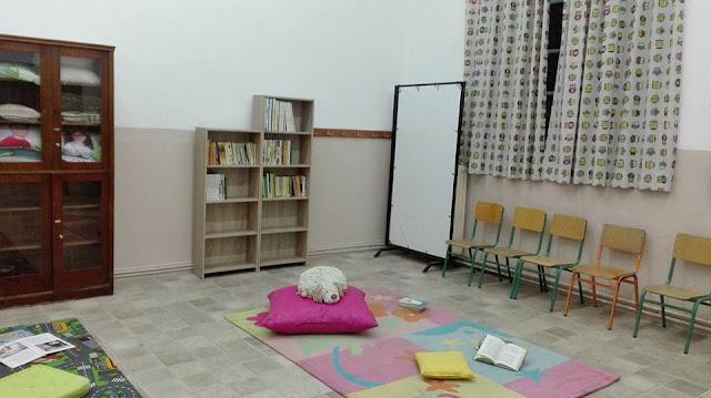 Με συλλογική δουλειά και προσφορές δημιούργησαν αίθουσα δανειστικής βιβλιοθήκη στο 1ο Δημοτικό Σχολείο Άργους