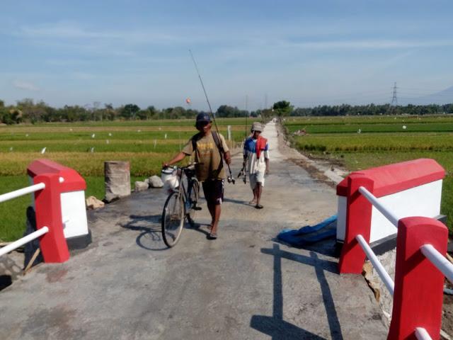 Nelayan Desa Jimbung Menuju Rowo Jombor Kini Tak Lagi Beputar 5 KM