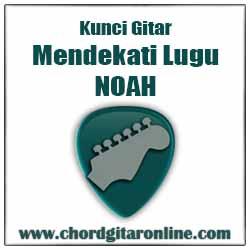 Chord Kunci Gitar NOAH Mendekati Lugu