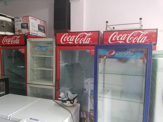 Sửa chửa tủ mát Cocacola / Pepsi tại Huế