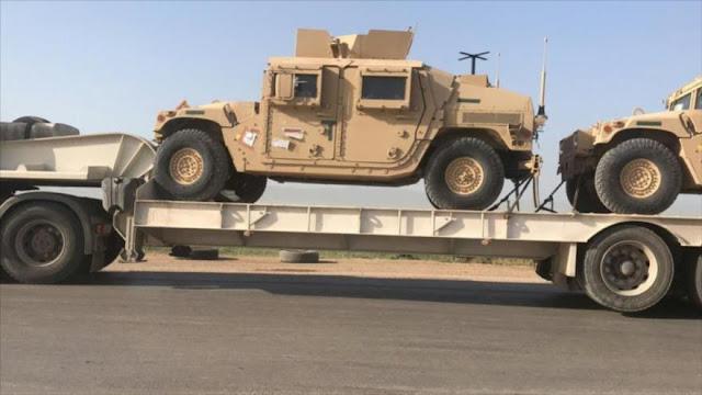 Erdogan: EEUU envía 4900 camiones de armas a Siria
