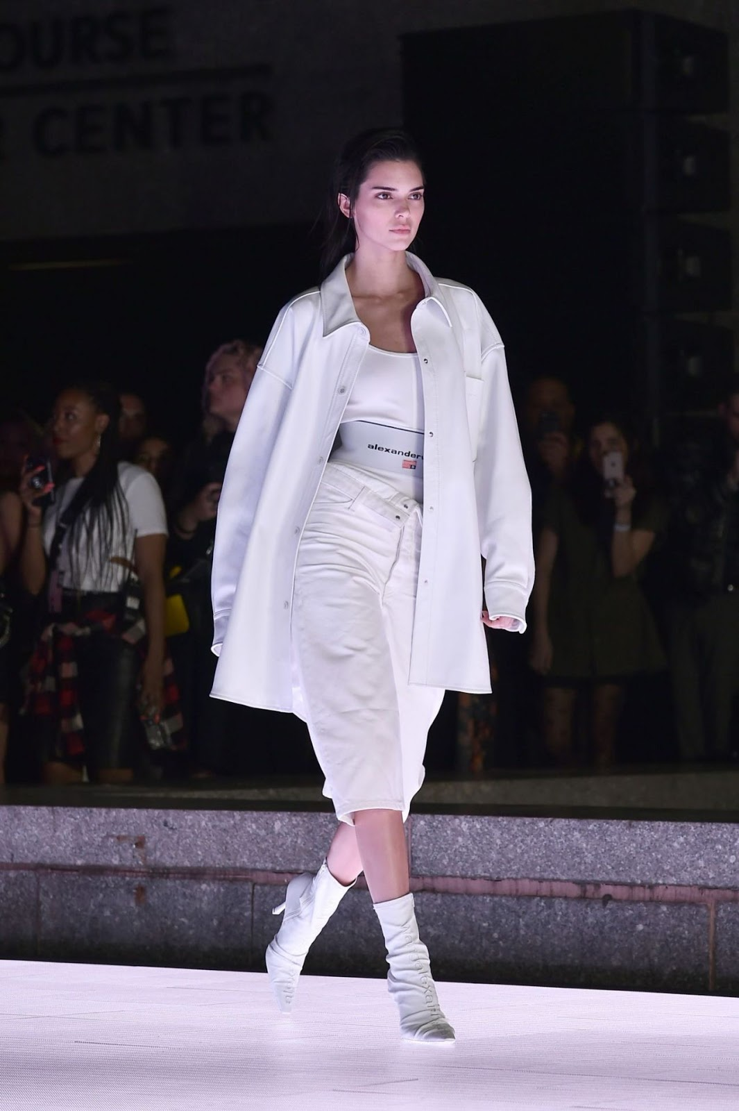 Kendall Jenner Walks Alexander Wang Collection 1 Fashion Show in NYC