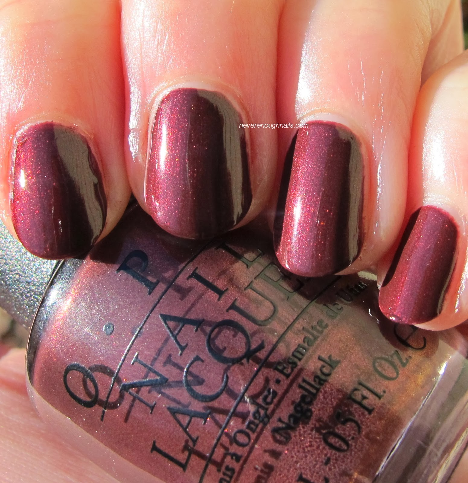 Never Enough Nails: OPI Mariah Carey Holiday 2013 Swatches, Part 1!