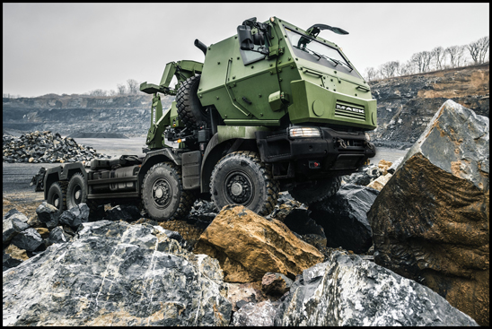 The Canadian Department of National Defence recently marked the official delivery of the first Medium Support Vehicle System (MSVS) Standard Military Pattern (SMP) trucks from Mack Defense during a ceremony at Canadian Forces Base Petawawa, in Petawawa, Ontario