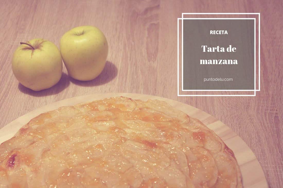 Receta tarta de manzana y hojaldre Punto de Lu