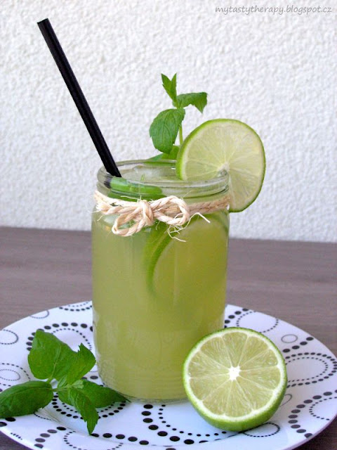 cucumber virgin mojito