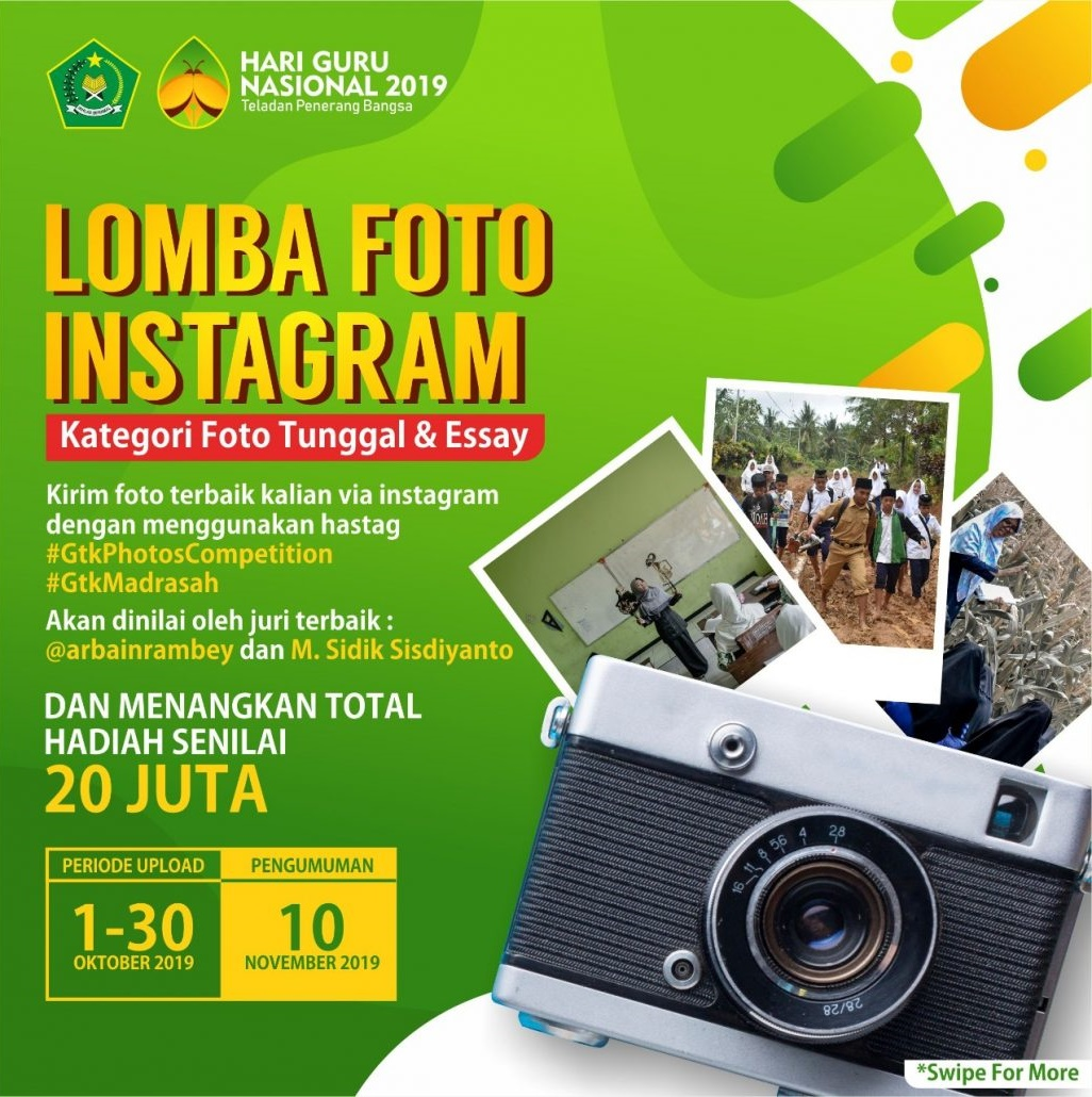 Lomba Foto dan Video Vlog