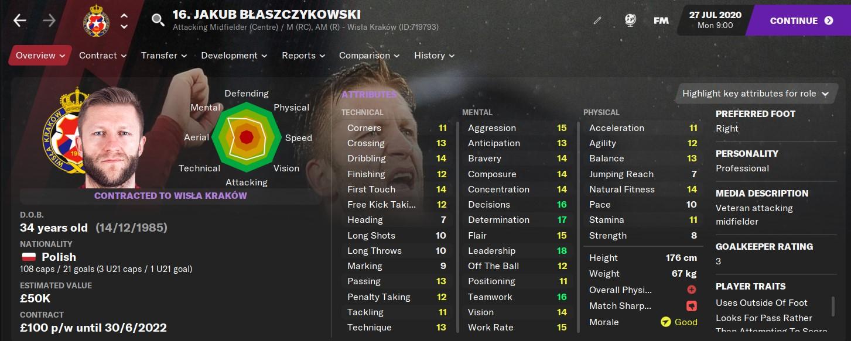 Jakub Blaszczykoswki FM21