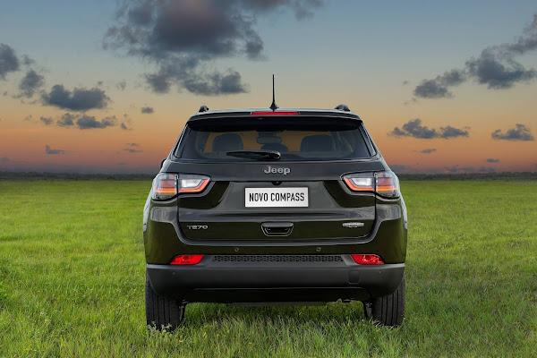 Novo Jeep Compass 2022 (Brasil): fotos, preço e especificações oficiais