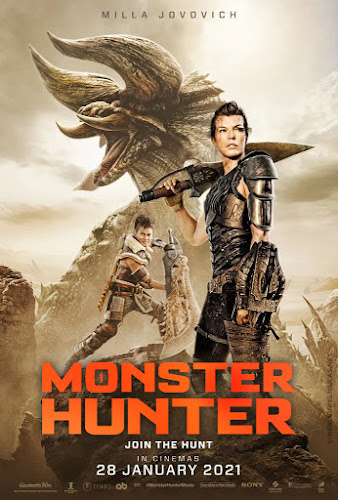 Monster Hunter (BRRip 1080p Dual Latino / Ingles) (2021)