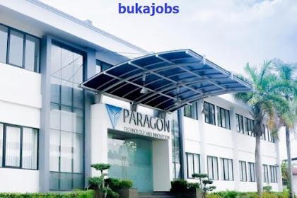 Lowongan Kerja PT Paragon Technology Indonesia Oktober 2019