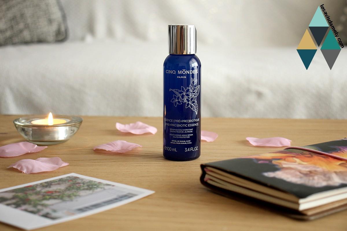avis soin hydratant peau déshydratée acide hyaluronique cinq mondes